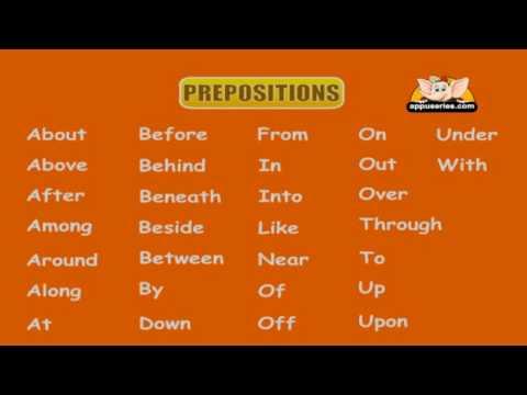 English Grammar - Learn Prepositions