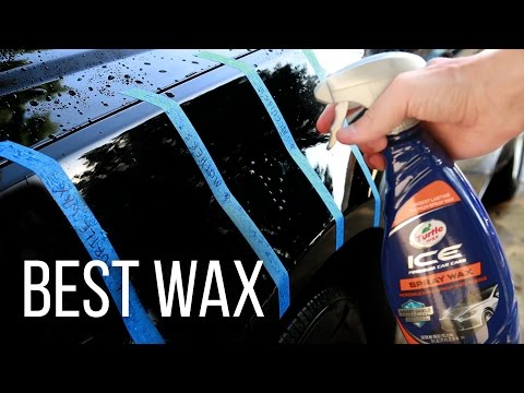 Best Spray Wax Under $10 TESTED