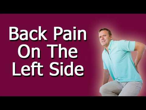 Back Pain on the Left Side