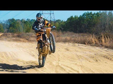 KTM 250 SXF Sand Shredding