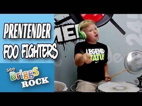Pretender Foo Fighters Drum Cover See Briggs Rock