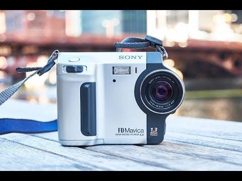 Old School Digital Camera Fun Part 1 - Sony Mavica FD-87 Review