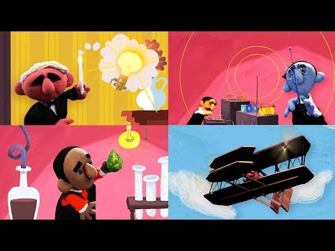 StoryBots | Great Innovators Songs | Learn About Thomas Edison and Marconi | Songs About Inventions