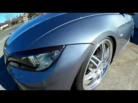 BMW E92 M3 Replica Bumper Front Carbon Fiber Lip Vorsteiner Review