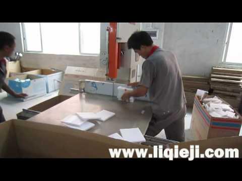 vertical cutting,splitting,foam form mattress foam supplier blue foam green foam