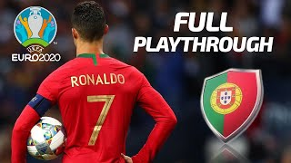 PES 2020 | Euro 2020 | Portugal Playthrough Live Stream | Can CR7 Grab the Goods?!