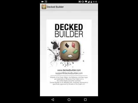 From Delver Lens to Decked Builder