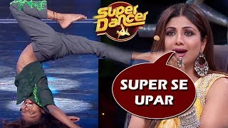 Super Dancer Chapter 3: Pritam EMOTIONAL & SHOCKING Dance Step Makes Shilpa & Geeta Emotional