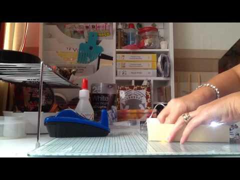 How to make a light up Christmas box