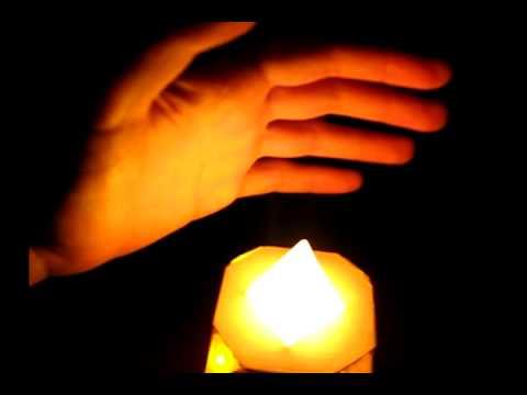 Electronic RGB candle / Elektronická RGB svíčka