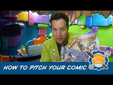 How To Pitch Your Comic Book