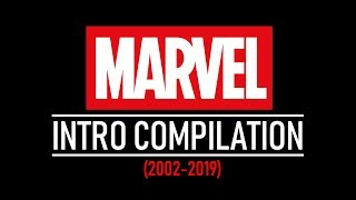 EVERY MARVEL INTRO (2002-2019) (Including Captain Marvel \u0026 Spider-Man: Far From Home Concepts)