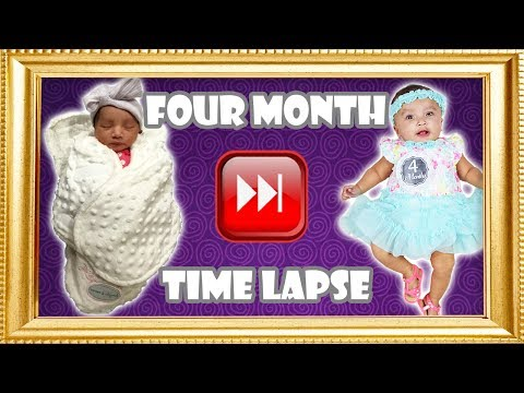 Baby's Four Month Time Lapse
