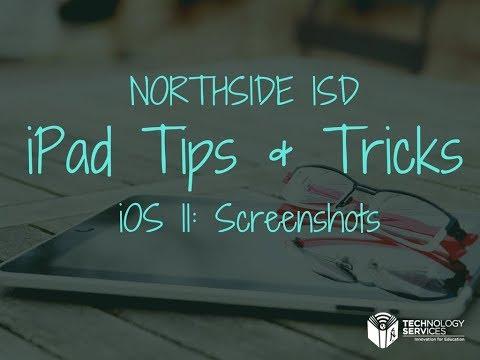 iOS 11: Marking Up Screenshots on Your iPad