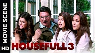 Boman tries to kill himself | Housefull 3 | Movie Scene
