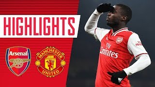 WHAT A PERFORMANCE! | HIGHLIGHTS | Arsenal 2-0 Manchester United | Jan 1, 2020