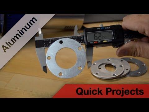 Making Aluminum Marble Machine X parts on the PRO4848 CNC Router Parts Machine