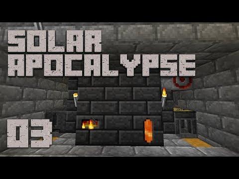 ►Solar Apocalypse LP: IT SMELTS!   Ep. 3   Modded Minecraft Survival◄