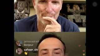 Denis Brogniart interview Javier de Koh-Lanta - Live Instagram