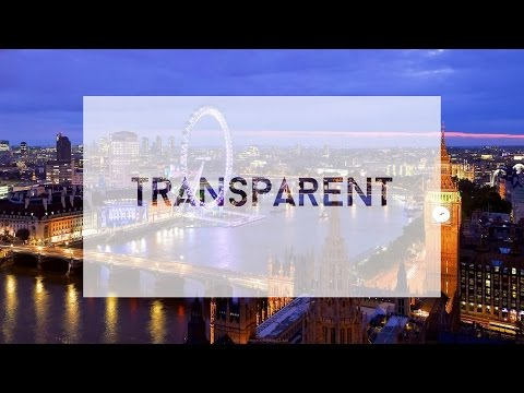 How to Make Transparent Text in Photoshop CC/CS6