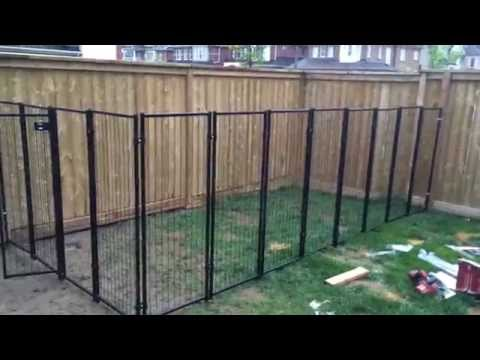 Backyard Renovation Building the Dog Fence part 2