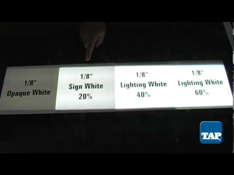 Choosing White Acrylic Sheet