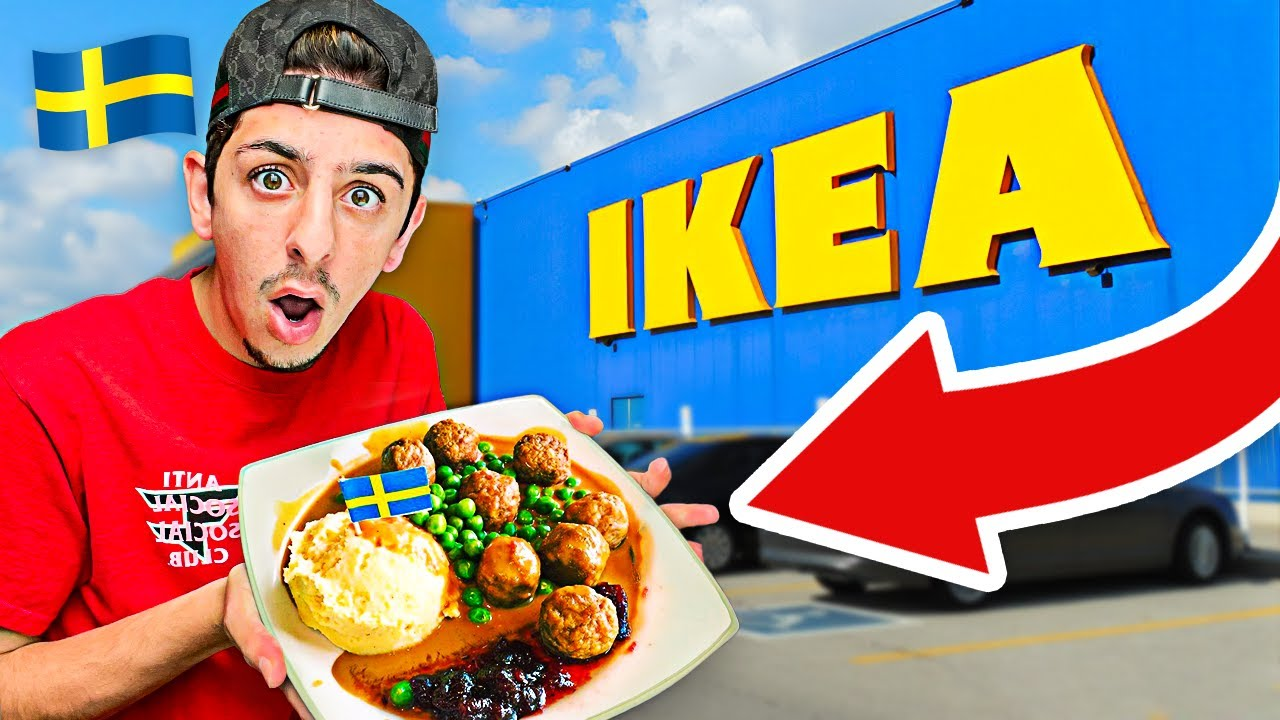 I Ate ONLY IKEA Food for 24 Hours! **insane**