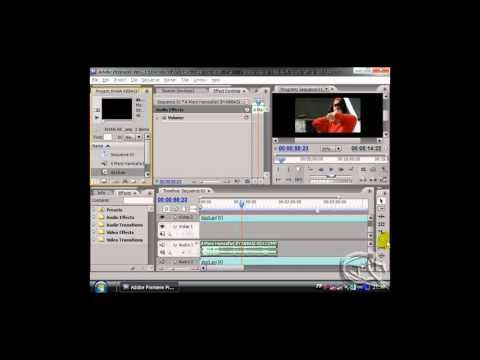 how to replace video on audio