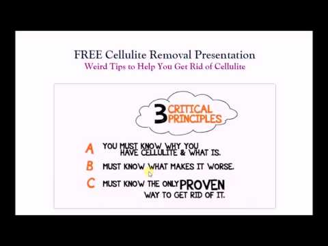 Cellulitis Treatment - How to Get Rid of Cellulite on Your Legs, Thighs, & Buttocks