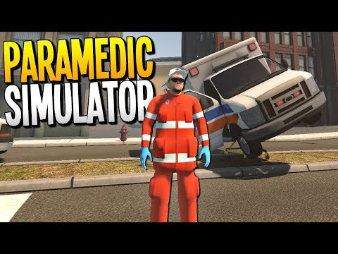 HERO PARAMEDIC SAVING LIVES (Mostly) - Paramedic Simulator - Flashing Lights Gameplay