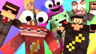 The Red Monster And Dj Khalid Experience! | Minecraft Do Not Laugh