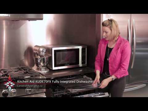 Kitchen Aid KUDE70FX Dishwasher/Fully Intergrated
