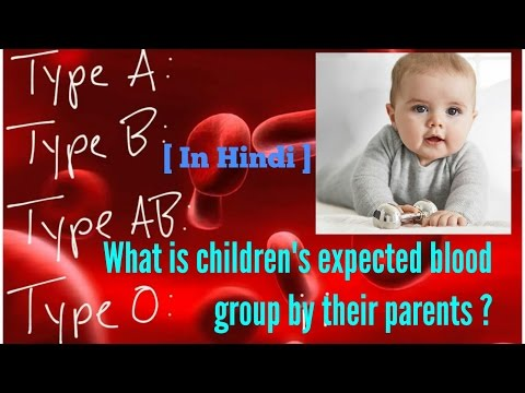 What is children's expected blood group by their parents?? [In Hindi]