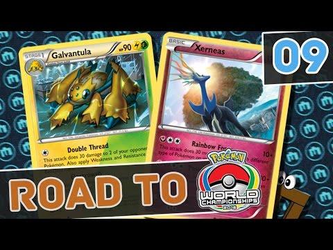 Road to TCG Worlds 2017 #009 - Rainbow Road Xerneas [Pokemon TCG Online]