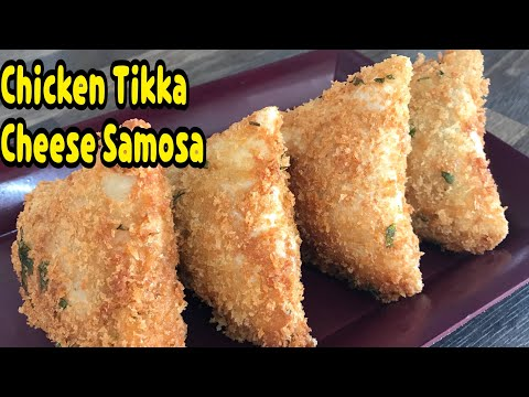 Unique Way To Make Chicken Tikka Cheese Samosa First Ever On Youtube Ramadan By Yasmin's Cooking