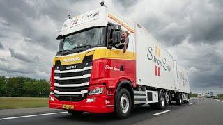 Met de combi van Enschede naar Jeruzalem en truckspotters spotten langs de A1!