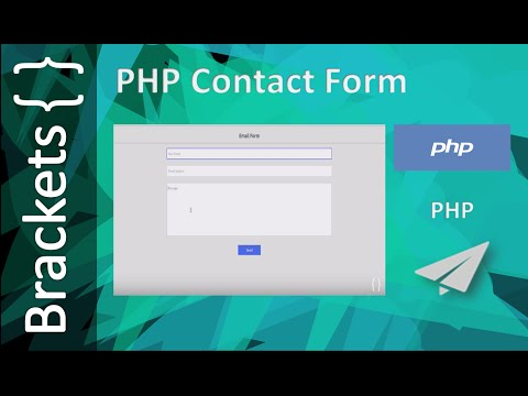 PHP Online Contact Form