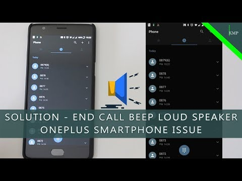 OnePlus - Loud Beep After Call End / Hang Up –  Smartphone Issue [SOLUTION]
