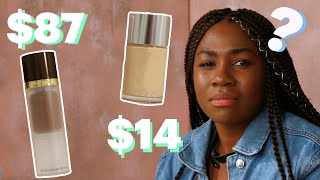 $14 Drugstore Vs. $87 High End Foundation