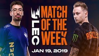 #LEC Match of the Week | Origen vs. Fnatic | Saturday 19th