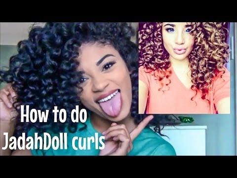 How to do Jadah Doll Curls   jasmeannnn