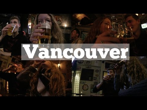 Mein erstes Mal... in VANCOUVER 🍺 | Kneipentour, Silvester, Party VLOG #12 (English subtitles)