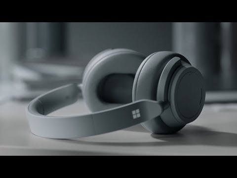 Microsoft Surface Headphones. Adjustable Noise Cancelling