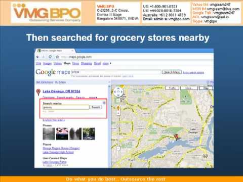 Mapping stores using Google Maps