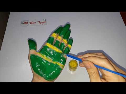Handprint Crafts for Kids | Hieu Nguyen DIY