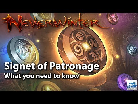 Neverwinter: Signet of Patronage what you need to know