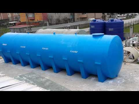 100m3 Fiberglass Water Tank