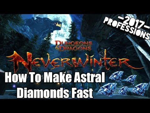 HOW TO FARM ASTRAL DIAMONDS FAST! PROFESSIONS! MUST WATCH PC PS4 XBOX