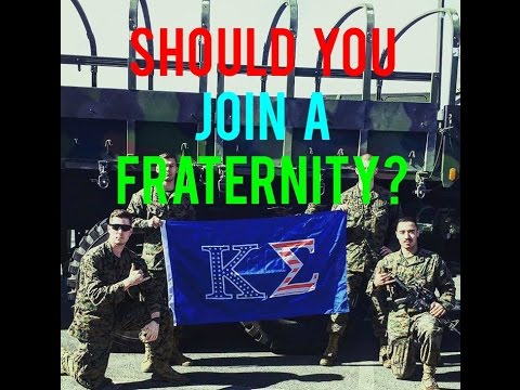 Is Joining a Fraternity Worth It?
