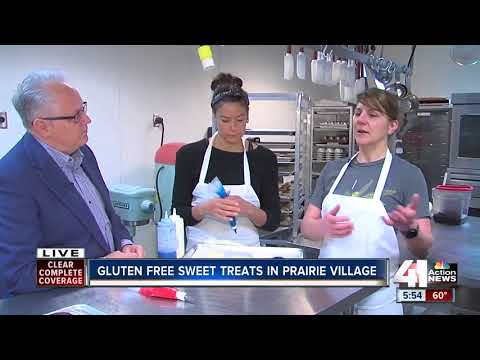 Daughters' wheat allergy inspires mom to found gluten-free bakery